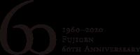 60th logomark